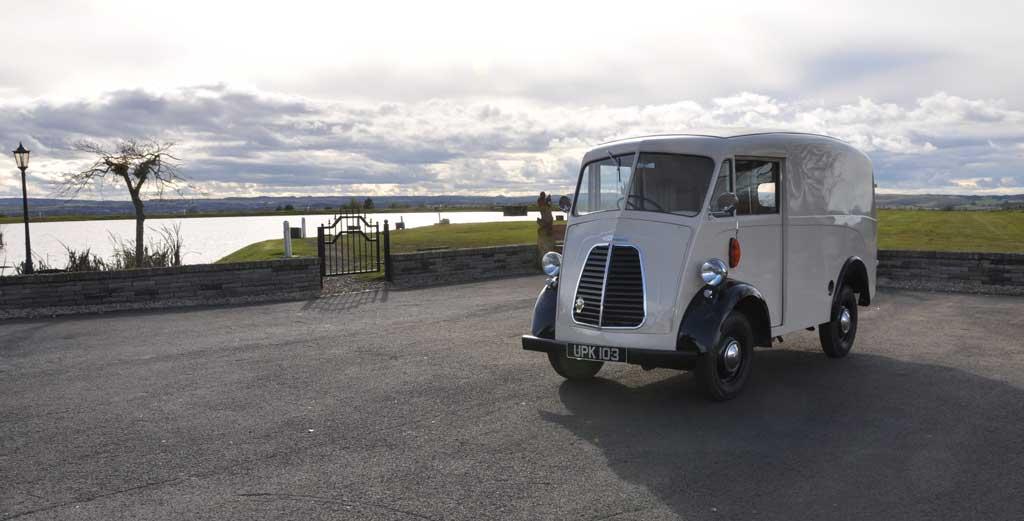 Morris JB Panel Van.